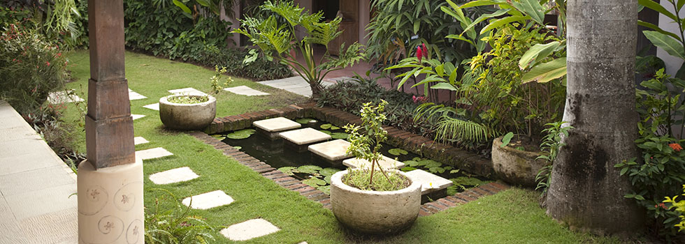 Bali style landscaping 13