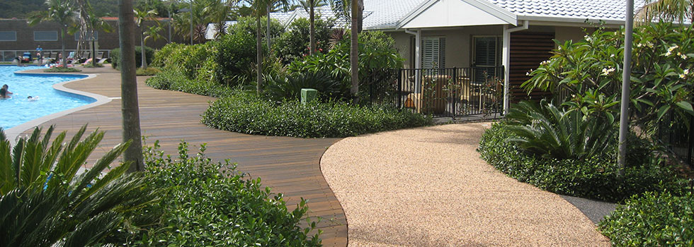 Hard landscaping surfaces 10