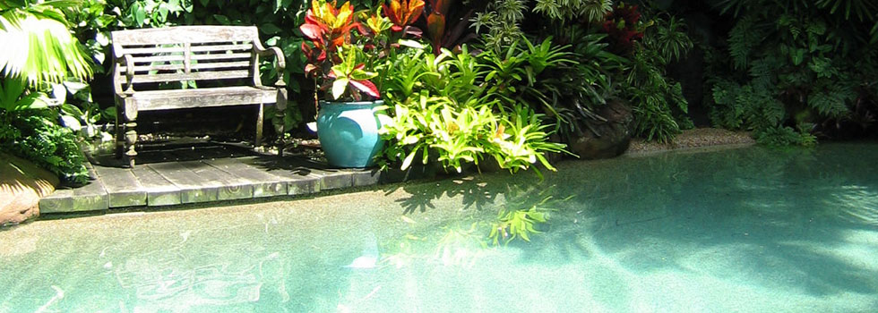 Swimming pool landscaping 3